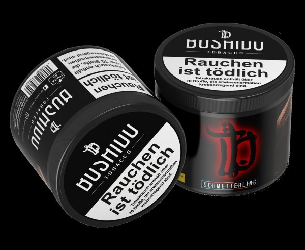 Bushido Tobacco Schmetterling