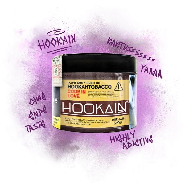 Hookain Tobacco 200g - Code in Love