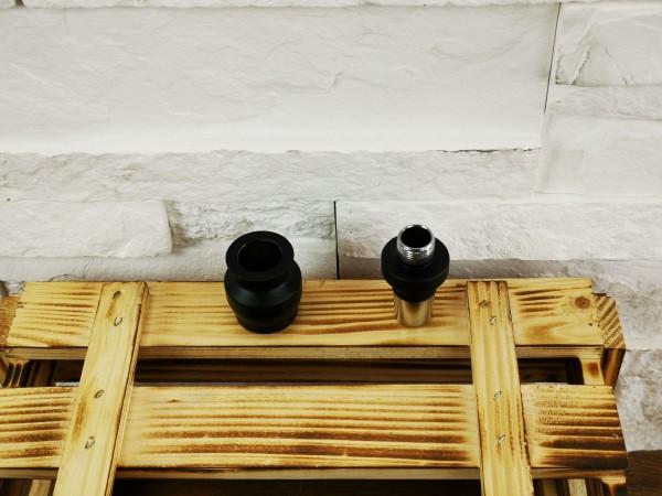 Caesar Adapter für Glas Mola - 18er - Matt Black